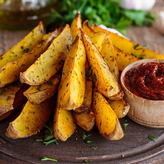 MeniuFamilie.ro by Elegant Catering - Cartofi noi în coajă prăjiți la wok