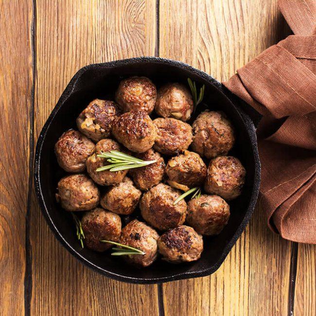 MeniuFamilie.ro by Elegant Catering - Chifteluțe din legume cu verdeață