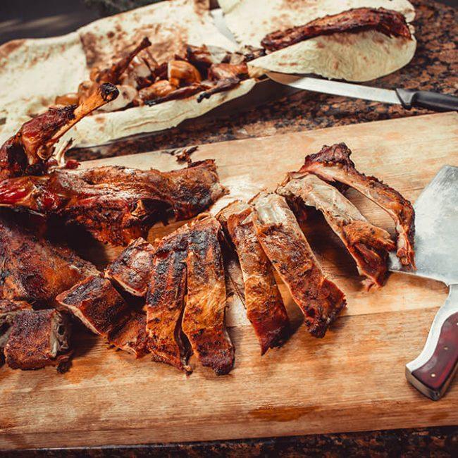 MeniuFamilie.ro by Elegant Catering - Pastramă de oaie la grătar