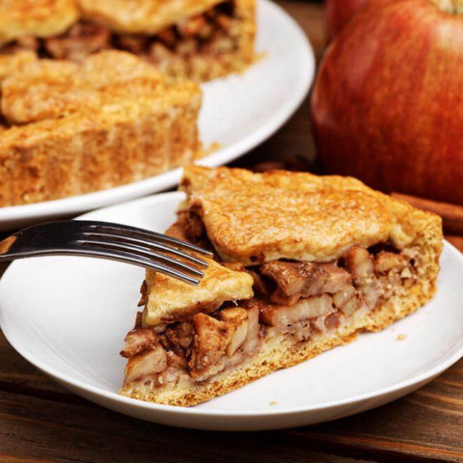 MeniuFamilie.ro by Elegant Catering - Plăcintă cu mere și nucă
