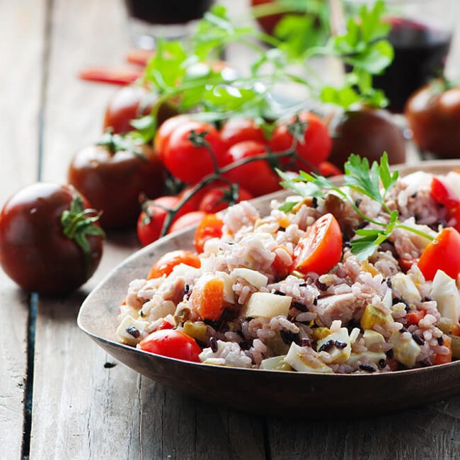 MeniuFamilie.ro by Elegant Catering - Salată de orez cu ton